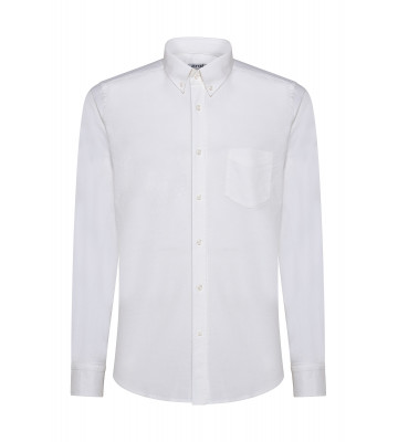 CAMICIA IN OXFORD BUTTON DOWN
